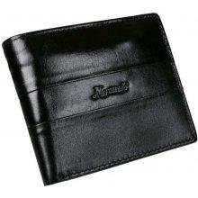 cda5606b45 Mercucio Kožená pánska peňaženka na šírku RFID čierna
