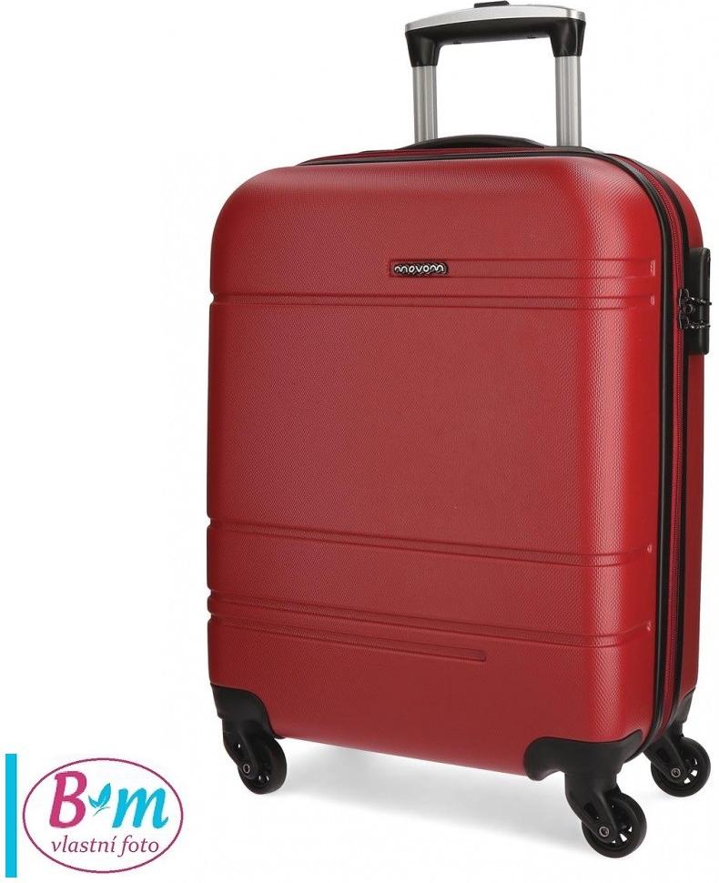 dd81d6b50c070 JOUMMABAGS Cestovný kufor MOVOM Matrix červený ABS plast, 37 l alternatívy  - Heureka.sk