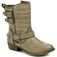 Mustang dámské kotníčkové boty hnědé ee708823453
