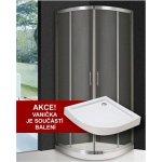 ARTTEC Lux 80 Sprchový kút s vaničkou PAN00604