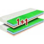 Viscosense sendvičový matrac s chráničom Clean Plus 200x80