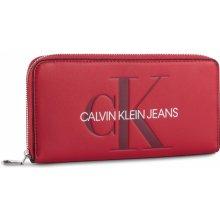 670bd8d263 Calvin Klein Jeans Veľká Peňaženka Dámska Sculpted Large Ziparound  K60K605547 649