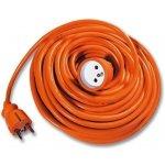 Predlžovací kábel 25m oranžový