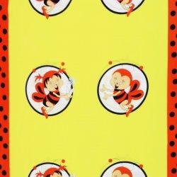 8cfbc49eeaf6 Látka metráž bavlna 100% Don Včielky oranžové CNM od 3