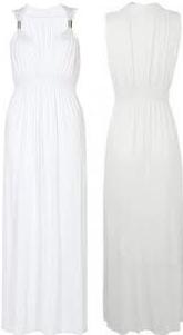 Maxi dlhé letné šaty Afrodita biela alternatívy - Heureka.sk 9a45c3f346f