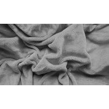 Textilomanie Plachta mikroplyš svetlo sivá 180x200