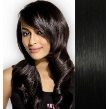 Vlasy pre metódu Pu Extension   Tapex   Tape Hair   Tape IN 50cm - čierne 00314c1b69e