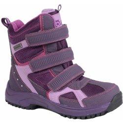 Bugga Dievčenské zimné topánky s membránou fialové alternatívy ... c13509cea42