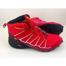 Pánska trailová obuv 3644M2 Červená / Čierna