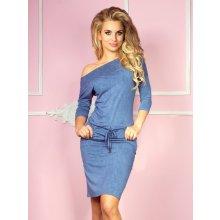 d7d9f45a5c07 Numoco dámske šaty 13-20 blue jeans