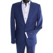 Pánsky oblek Violi slim fit kráľovská modrá
