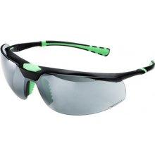 Univet 5X3, čierno-zelený rám, dymové sklá s povrchovou vrstvou proti poškriabaniu a zahmlievaniu, UV400