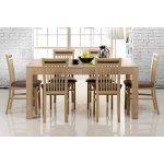 Nabytok-Bogart Komplet stôl Wenus 40 + 6 stoličiek Mars 131