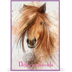 Dosky na abecedu kôň