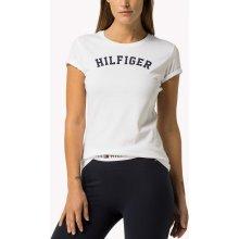 Tommy Hilfiger biele tričko Tee Print 2e2cd5dc11e