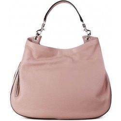 67ca915661 talianske ružové kožené kabelky talianske cez plece Verdura ...
