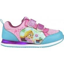 Disney Brand Dievčenské svietiace tenisky Locika ružové 0ad8f4bd72d