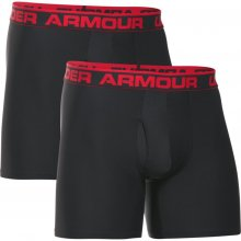 "e375ef603 UNDER ARMOUR Kompresné boxerky Original Series 6"" Boxerjock čierne 2-pack"
