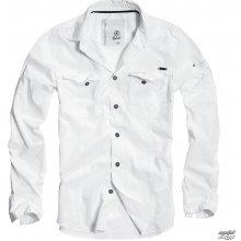 72e24d5af17a Brandit košele pánska Men Shirt Slim Weiss 4005 7