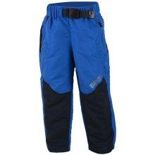 ed1e77f4702c Bugga Chlapčenské outdoorové nohavice s fleecom modré