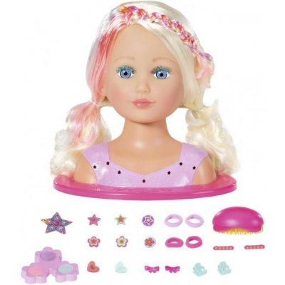 Zapf Creation Staršia sestrička BABY born Česacia hlava s farebnými kriedami