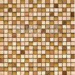 Premium Mosaic Stone Mozaika mix béžová-oranžová-sklo 1,5x1,5 cm - STMOS15MIX2