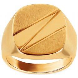 201b7b5fd iZlato Design Zlatý pánsky prsteň Efisio IZ9596 alternatívy - Heureka.sk