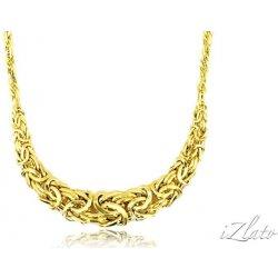 3c9c10580 Zlatý dámsky náhrdelník