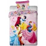Jerry Fabrics bavlna obliečky Princezny dancing 140x200 70x90