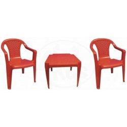 e331fa643a193 Grand Soleil sada stoleček a dvě židličky červené od 15,01 ...