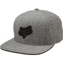 FOX Legacy Snapback Hat Heather Grey LFS18F 562f2d0f51
