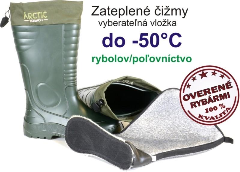 cbfc4fb78411 Rybárská obuv Lemingo Zateplené čižmy do -50° Arctic Termo+ 875 ...