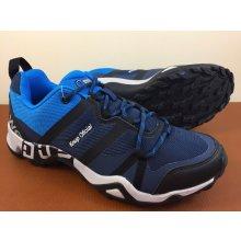 Pánska outdoorová obuv 3028M12 Modrá / Čierna