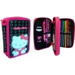 Hello Kitty - dvojposchodový peračník s výbavou