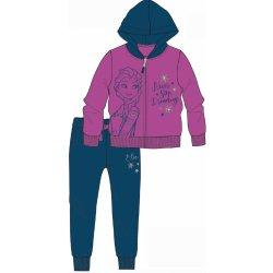Disney by Arnetta Dievčenská tepláková súprava Frozenmodro-ružová od ... 86bb1ca3a8f