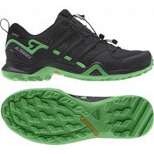 Adidas Outdoorové topánky Performance TERREX SWIFT R2 GTX Čierna / Svetlo zelená
