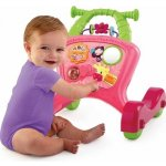 Bright Starts Chodítko Sit to Stride Activity Walker Pink 6m+