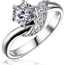 Silvego Stříbrný zásnubní prsteň SHZR234