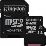 Kingston MicroSDXC 64GB UHS-I U1 SDCS/64GB