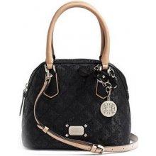 GUESS Elegantní kabelka Juliet Amour Dome Satchel Black (mGU0188)
