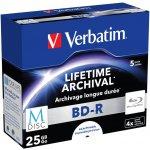 Verbatim BD-R 25GB 4x, 5ks