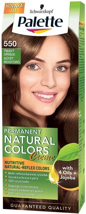 Farba na vlasy Schwarzkopf Permanent Natural Color 550 tmavý oříšek ... 35007591ed5