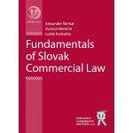 Fundamentals of Slovak Commercial Law - Alexander Škrinár, Zuzana Nevolná, Lukáš Kvokačka
