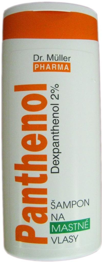 Dr. Müller Panthenol šampón pre mastné vlasy 250 ml od 3 b63599afa40
