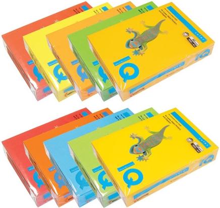Farebny Papier Kopirovaci Papier Farebny A4 160g M2 Intenziv
