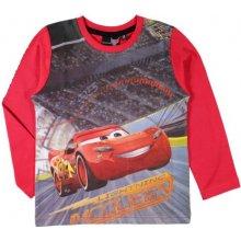 E plus M Chlapčenské tričko Cars - červené
