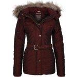 DreiMaster Dámsky kabát 35132807 weinrot
