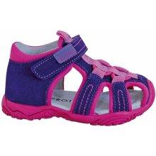 a3c726b14f Protetika Dievčenské sandále Sid fialovo-ružová