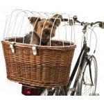 Košík na bicykel s ochrannou mriežkou
