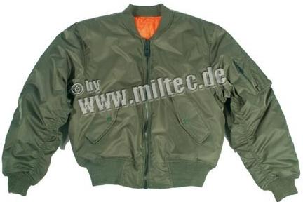 Pánska bunda US letecká bunda MA1 bomber olivová - Zoznamtovaru.sk 744a19c7dc8